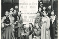 1950 Ny Norsk Ballet I England 1950 Page 1